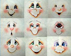Como Pintar Olhos passo a passo aprenda, em vídeo aula, várias técnicas de pintura de olhos para bonecas artesanais. Nesse post você vai aprender em alguma