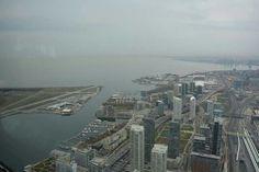 Vue depuis la tour CN. Toronto, Canada Road Trip dans l'Est Canadien