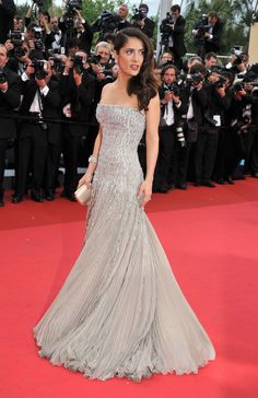 Salma Hayek at the 2011 Cannes Film Festival looking stunning
