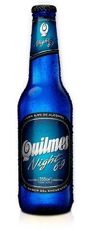 Cerveja Quilmes Nigh 6.9, estilo Standard American Lager, produzida por Anheuser-Busch, Argentina. 6.9% ABV de álcool.