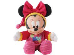 Boneca Minnie Baby Original Multibrink Disney - R$ 119,00 no MercadoLivre