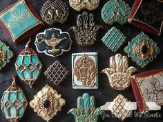 Diy wedding cupcakes sugar cookies 38 Ideas for 2019 How To Make Cookies, Fun Cookies, Cupcake Cookies, Sugar Cookies, Decorated Cookies, Diy Wedding Cupcakes, Fondant, Henna Party, Cookie Time