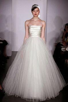 Hermosos vestidos de novia   Colección Amsale 2014