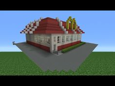 Minecraft Tutorial: How To Make A McDonald's Restaurant - YouTube
