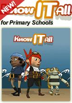 Know IT All for Primary Schools includes 6 tutorials for teachers on a range of E-safety issues