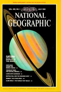 National Geographic July 1981 / National Geographic Photography / Covers