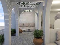Outdoor Architecture Aloni Hotel, Paros2018 - 2019PrivateWork in progress2145 m2 Blue Design, Modern Design, Room Interior, Interior Design, Paros Island, Hotel Architecture, Hotel S, Source Of Inspiration, Ground Floor