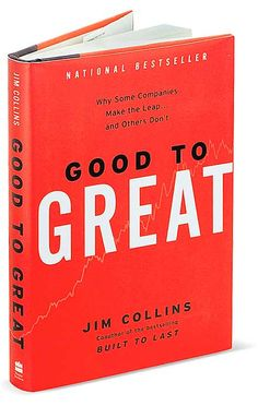 """Good To Great"" by Tim Collins is a great read for all graduates. This book review from PrintReady.co gives a good synopsis of what you can expect from this best seller."