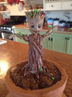 Image result for groot cake tutorial