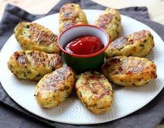 Recette - Croquettes de chou-fleur au parmesan en vidéo