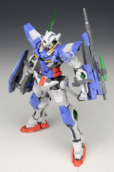 MG 1/100 Gundam Exia Repair III - Customized Build Modeled by ALWEN99 CLICK HERE TO VIEW FULL POST...