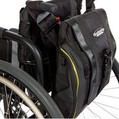 Sac à dos Urban Messenger pour fauteuil roulant (Illustration n° 1) Voir une plus grande image dans une nouvelle fenêtre