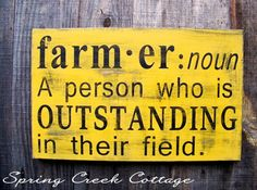 Funny Farmer Quotes and Sayings Inspirational Signs Farmer Funny Farm Sayings Hand Painted by