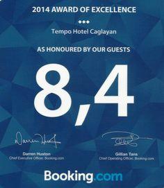 Tempo Hotel Çağlayan - BOOKING AWARD