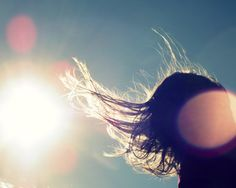 Windy Day Photography Hair Blowing Sunny by VictoriaEnglishCharm, $25.00