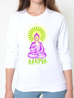 KARMA Sweatshirt Super soft 100% cotton, perfect gift for yoga lovers!