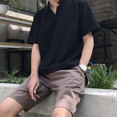 Trendy clothing for korean fashion styles 124 Short Outfits, Trendy Outfits, Fashion Outfits, Fashion Styles, Fashion Trends, Fashion Tips, Mode Man, Korean Fashion Men, Mens Fashion