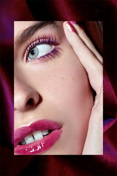 Meet Your Newest Makeup Obsession #refinery29  http://www.refinery29.com/different-textures-makeup-looks