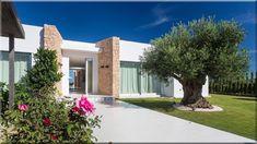 modern új építésű kőház, szép design Luxuslakások, házak Vidéki házak, lakások Modern ház Mediterrán házak Vidéki ház - Luxuslakások, házak 6 Provence, Mansions, House Styles, Outdoor Decor, Design, Home Decor, Majorca, Decoration Home, Manor Houses
