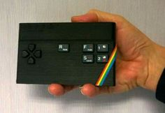 Comes with built-in Speccy games