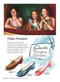 1959 Clarks Teenager shoes