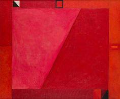 Jerzy Nowosielski - Abstrakcja czerwona, 1978 r.