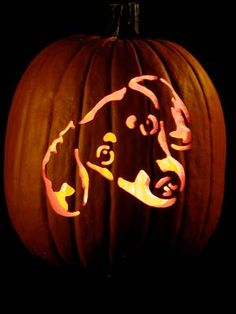 Doxie lovers will delight in knowing that this year they can put a more festive pumpkin on their front porch: a home-carved dachshund pumpki...