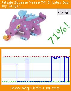 Petsafe Squeeze Meeze(TM) Jr. Latex Dog Toy, Dragon (Misc.). Drop 71%! Current price $2.80, the previous price was $9.63. https://www.adquisitio-usa.com/radio-systems/premier-pet-squeeze-meeze