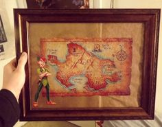 bemagical: The Girl's Room - ☠ How To Make Your Own Neverland Map ★