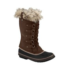 20cm of snow is nothing for the aptly named 'Joan of Arctic' boot from Sorel.