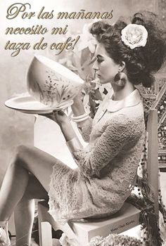 Buenos días os desea #badebaño #cafe #mañanas