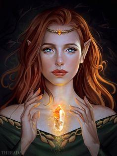 Fe'lahn by Therarda on DeviantArt Dnd Characters, Fantasy Characters, Fictional Characters, Character Portraits, Character Art, Character Profile, Tattoo Guerreiro, Feyre And Rhysand, Elf Art
