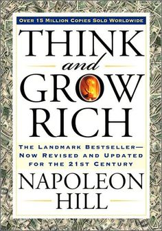 'Think and Grow Rich' is a self-help book written by Napoleon Hill. Napolean Hill had given 20 years of his life to Think and Grow Rich book. Andrew Carnegie asked Hill to write Think and Grow Rich. Napoleon Hill, Quotes Dream, Life Quotes Love, Andrew Carnegie, Dale Carnegie, Motivational Books, Inspirational Books, Motivational Thoughts, Think And Grow Rich