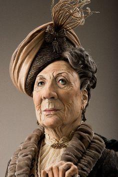 Lady Violet Crawley by Dustin Poche.