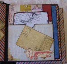 Margyz Paper Games: Travel Mini Album