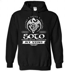 SOTO Celtic Blood - #hoodie #college hoodie. SIMILAR ITEMS => https://www.sunfrog.com/Names/SOTO-Celtic-Blood-9911-Black-Hoodie.html?68278