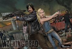 The Walking Dead - Daryl and Beth by Ted Hammond