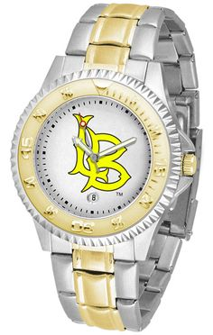 Long Beach State 49ers Competitor Two Tone Watch