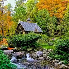 Cottage, Quebec, Canada
