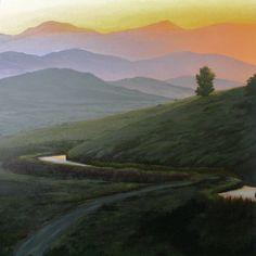 """""""Sunset Reflections, Ashland Hills"""""""