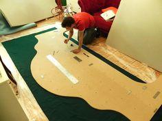 DIY Anleitung: Riesiges Familienbett selber bauen