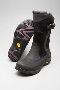 Dansko mid calf boot built for performance, offers  adjustable calf strap, durable Vibram natural rubber outsole,outsole, waterproof, construction.