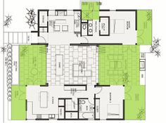 89 best Breezeway house plans images on Pinterest | House design ...