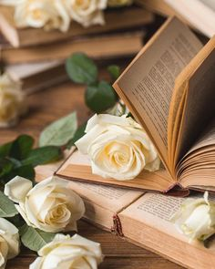 Beautiful Flowers Wallpapers, Beautiful Roses, Cute Wallpapers, Book Wallpaper, Flower Phone Wallpaper, Flower Aesthetic, Book Aesthetic, Still Life Photography, Book Photography