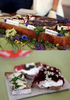 """Schnittigen Kreationen """"der Aufstricher"""", kreatives und regionales Catering, Wien"""