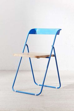 Slide View: 3: Nora Wooden Folding Chair