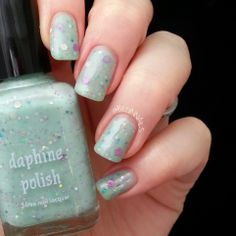 BeginNails: Every Journey Has a Beginning: Daphine Polish Swatch and Review.  Fistful of Rain swatched by @Beginnails (Kristi)