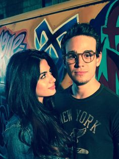 Emeraude and Alberto took a picture together, Sizzy, for more pictures of the tv-show follow my shadowhunters board,