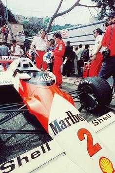 1985 McLaren MP4/2B. (Monaco, Alain Prost)
