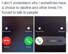 When your phone decides to be a game of chance every time it rings: - Funny Memes Really Funny Memes, Stupid Funny Memes, Funny Relatable Memes, Haha Funny, Funny Pins, Funny Stuff, True Memes, Funny Disney Memes, Disney Quotes